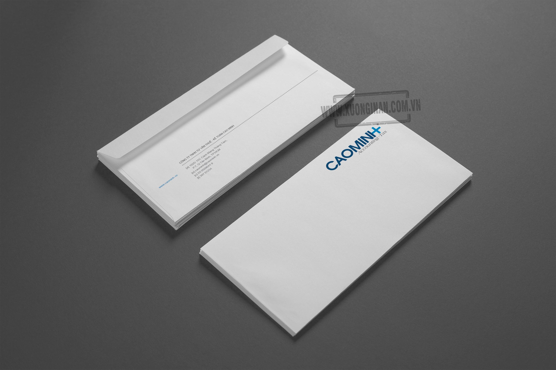 Dự án ấn phẩm văn phòng cho công ty Cao Minh