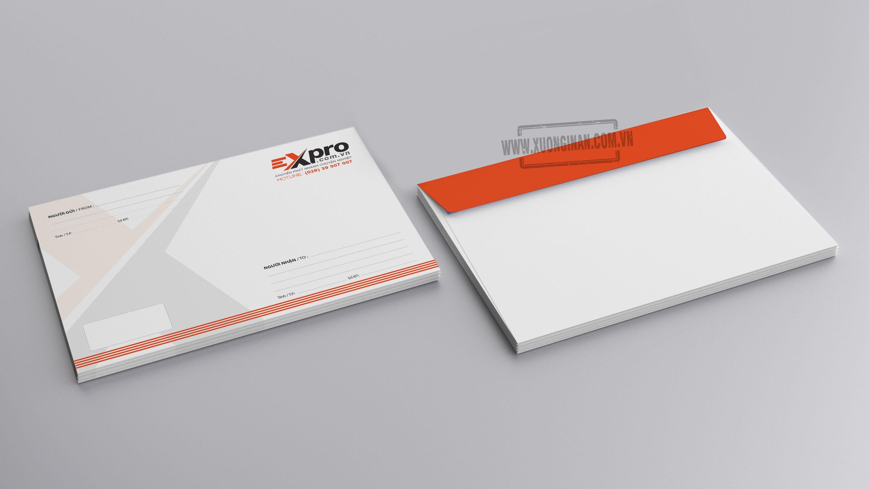Dự án in ấn phẩm văn phòng cho công ty EXPRO
