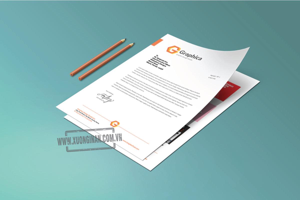 Kích thước và chất liệu giấy nào phù hợp với in giấy tiêu đề cho hợp đồng?